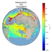 Saharan dust index
